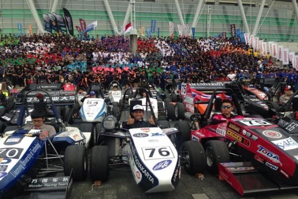 Garuda UNY berprestasi di Student Formula Japan 2015