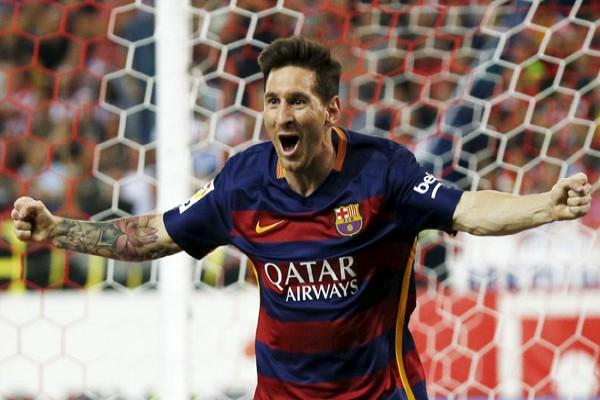 Barcelona kalah, Messi berang