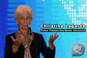 Lagarde dapat dukungan kuat dari Eropa untuk tetap di IMF