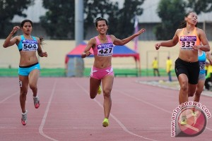 Jatim koleksi lima emas hari ketiga Kejurnas Atletik 2015
