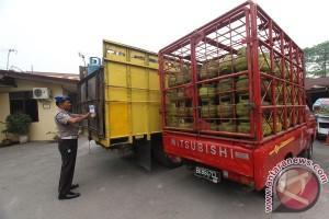 Polisi gerebek praktik penyalahgunaan elpiji tiga kilogram