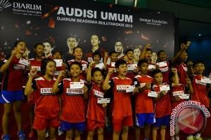 31 peserta lolos ke final audisi beasiswa Djarum