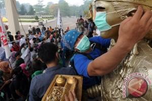 Anak-anak Riau belum terbebas dari polusi asap