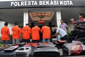 Polresta Bekasi berubah nama Polres Metro Bekasi