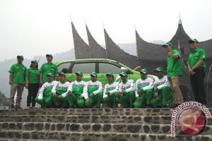 Bridgestone uji Ecopia EP150 di lintas Sumatera