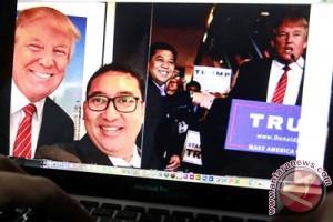 Nama Donald Trump dipasang lagi di Kompleks Golf Dubai