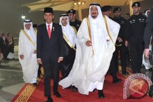 Pesawat pengangkut perbekalan Raja Salman sudah tiba di Bali