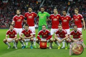 Susunan pemain Manchester United vs Wolfsburg