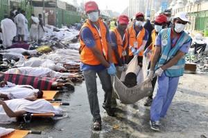 Menurut Reuters, korban tewas Tragedi Mina 2.070 orang