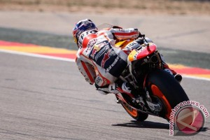 Pedrosa tercepat dalam latihan bebas keempat GP Aragon