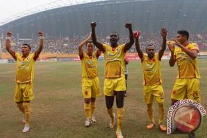 Skuad Sriwijaya FC ke Balikpapan dalam kondisi siap tempur