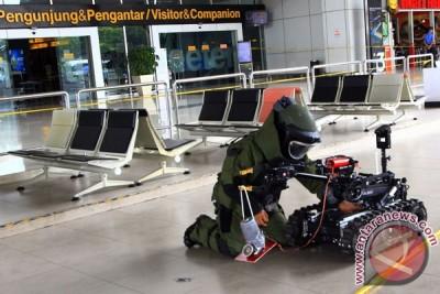 Simulasi Teror Bom Bandara
