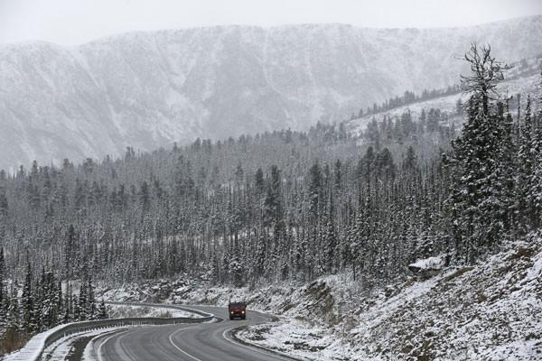 Salju turun di Chile, satu orang meninggal