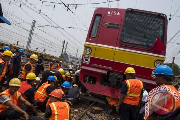 Layanan Stasiun Jakarta Kota kembali pulih