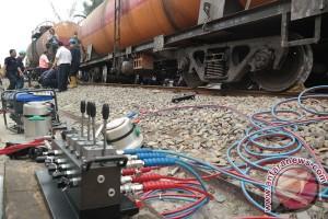 Kereta CPO Anjlok