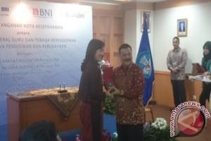 BNI - Kemdikbud sepakati penyediaan dan penggunaan jasa perbankan