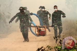 Anggota TNI AD hilang saat padamkan kebakaran lahan