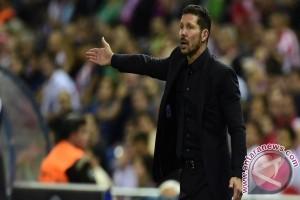 LIGA CHAMPIONS - Simeone peringatkan Atletico jaga momentum kemenangan