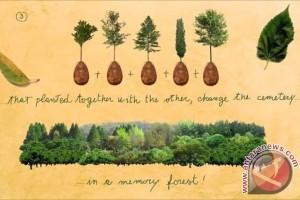 Pemakaman ramah lingkungan yang unik