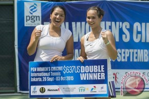 Beatrice-Jessy Juara Tennis PGN