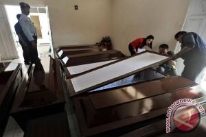10 jenazah kecelakaan aviastar tiba di bhayangkara