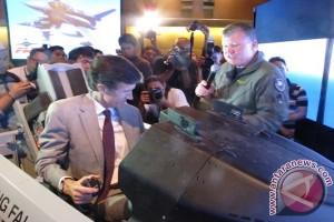 Simulator pesawat tempur F-16 V hadir di Indonesia