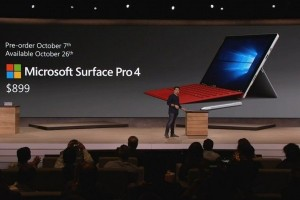 Saingi iPad Pro, Microsoft pasang Surface Pro 4
