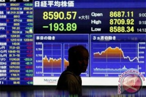 Indeks Nikkei menguat 0,14 persen