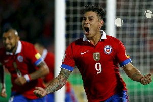 Mimpi Vargas cetak gol kemenangan Chile di Piala Konfederasi