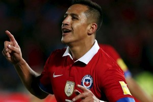 Chile lumat Venezuela 3-0 pada babak pertama