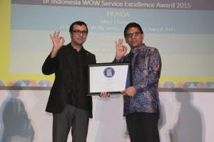 Toyota Astra Motor raih penghargaan pelayanan terbaik