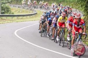 Arvin diambang juara Tour de Singkarak 2015