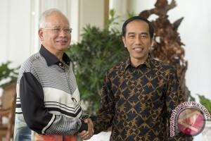 Jokowi-Najib bahas tiga isu strategis RI-Malaysia