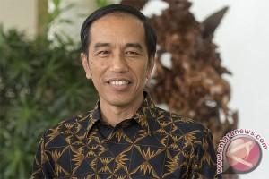 Presiden Jokowi tiba di Tapanuli Tengah