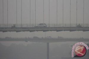 BENCANA ASAP - Kualitas udara Riau membaik