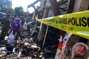 Kebakaran Pasar Yaik Semarang berhasil dipadamkan
