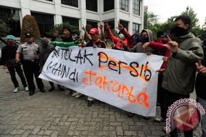 "Menyambut pasukan ""Maung Bandung"" vs ""Laskar Wong Kito"" di Ibu Kota"