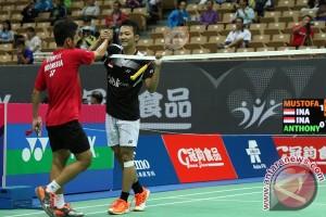 Ihsan ke semifinal Taiwan Terbuka