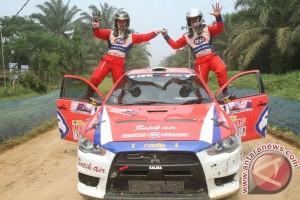 Ubang tetap juara meski sempat alami masalah gearbox