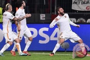 Roma lawan Milan berakhir imbang 1-1