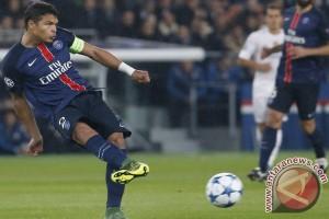 Thiago Silva akan absen pada lawatan ke markas Toulouse
