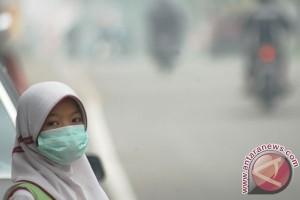 BENCANA ASAP - Guru minta ujian nasional ditunda karena kabut asap