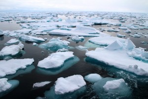 EARTH WIRE -- Climate change in Arctic may contribute to extreme cold winters