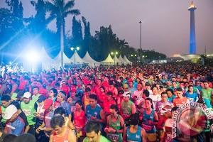 Mandiri Jakarta Marathon 2016 diikuti 16.000 peserta