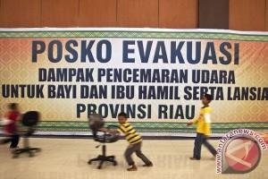 BENCANA ASAP - 1,067 ton bantuan kesehatan mengaliri Riau