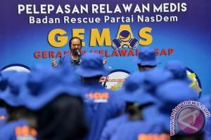 NasDem kirim relawan medis ke bencana asap