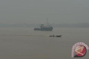 Kota Dumai diselimuti kabut asap tipis