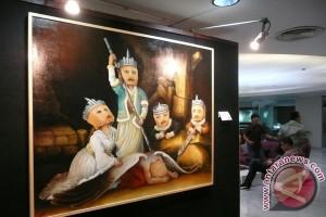 Gus Mus: pejabat harus lihat pameran lukisan