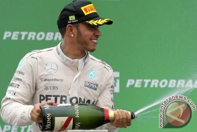 Lewis Hamilton juarai GP Monaco, Rio Haryanto finis urutan 15