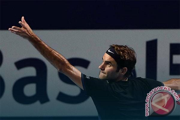 Federer singkirkan petenis kualifikasi asal Jerman